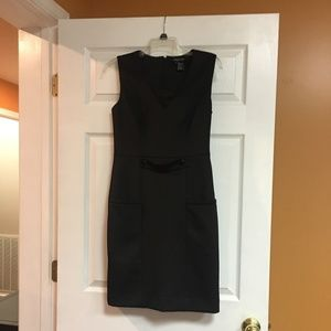 Etcetera Black Sleeveless Professional Dress Sz4